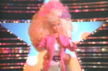 1986 Barbie & the Rockers Commercial