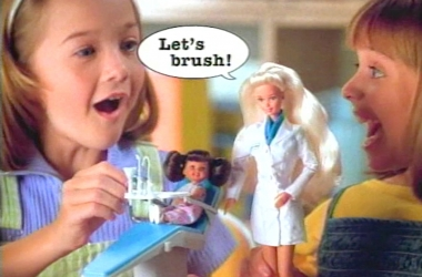 1997 Dentist Barbie Commercial